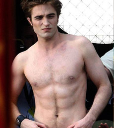 Robert Pattinson Nude